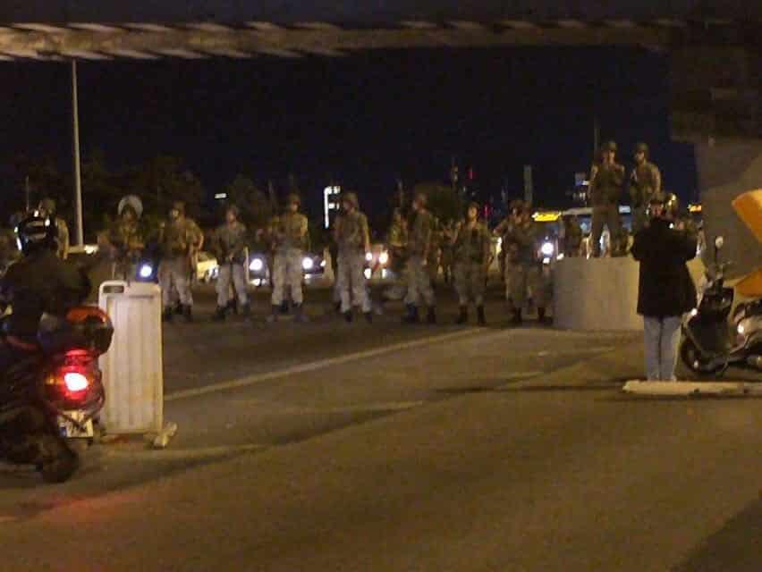 RT @WashingtonPoint: Bosporus Bridge currently…