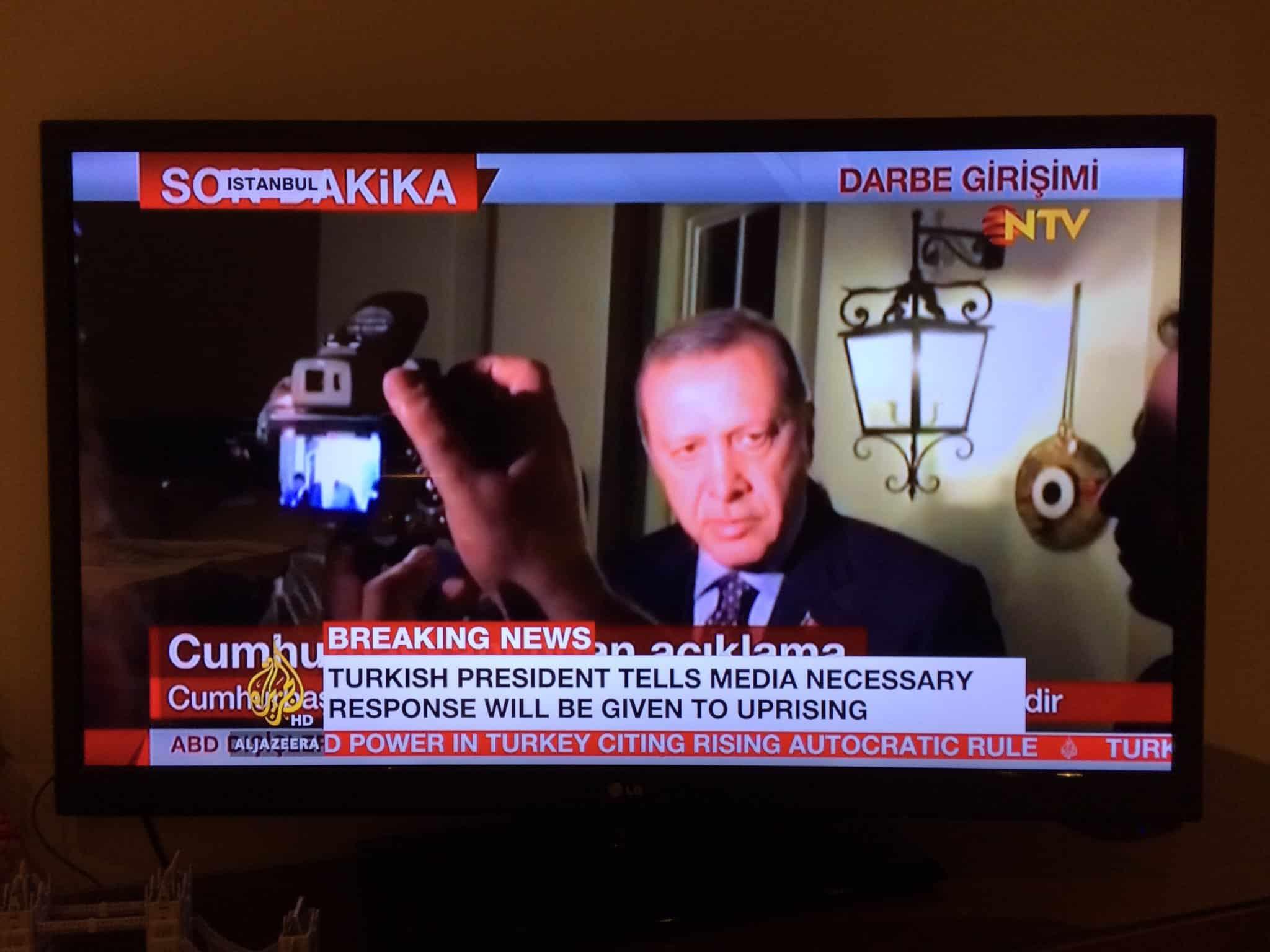 Retweeted Kate AG (@RadioKate):  Erdogan speaking…