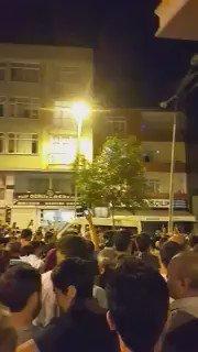 RT @WarfareWW: People gathering, chanting…