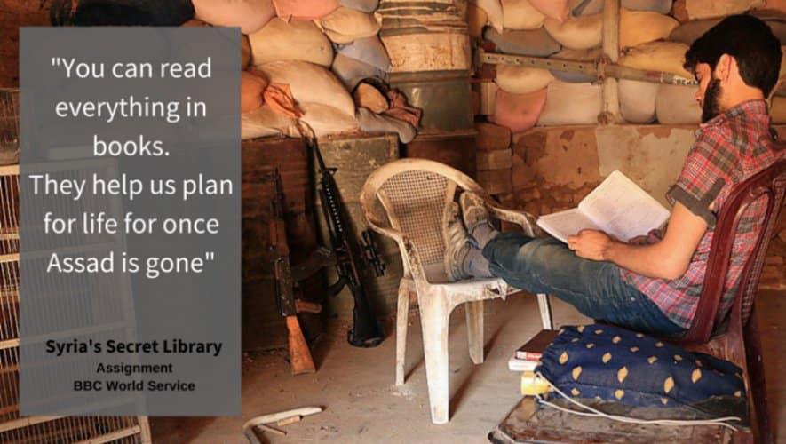 RT @bbcworldservice: Syria's secret library…