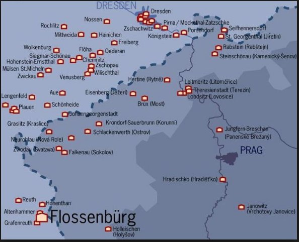 Sub-camps of Flossenbürg concentration camp…