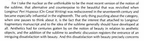 Frances Ferguson 1984: On the…
