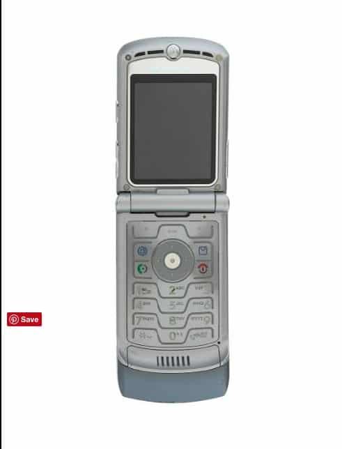 Paulson's Motorola Razor one of…