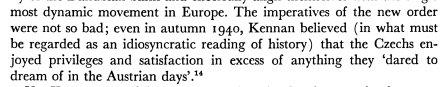 Kennan's terrible misjudgment of Nazi…