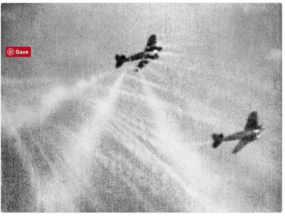 Spitfire zeros in on Heinkel…
