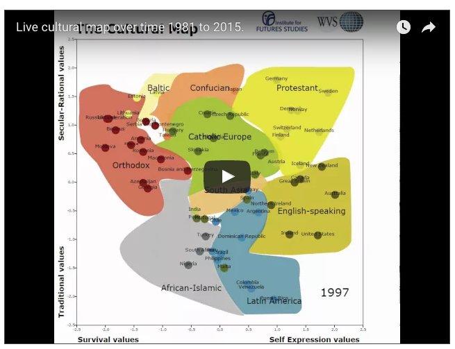 Animated world values map 1981-2014…