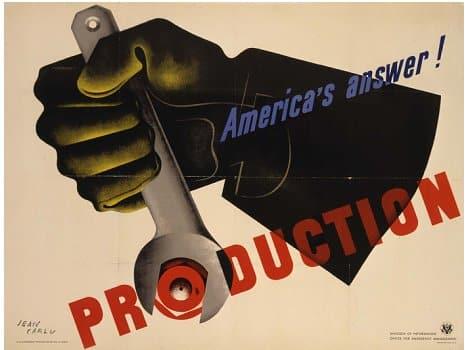 Jean Carlu 1942: America's Answer!…