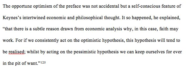 Keynes on the functional imperative…