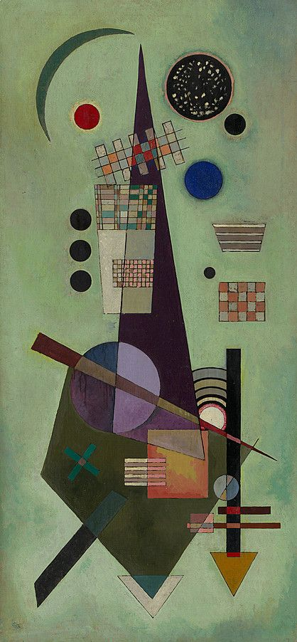 Retweeted Mordecai (@MenschOhneMusil):  Vasily Kandinsky, 1944.…