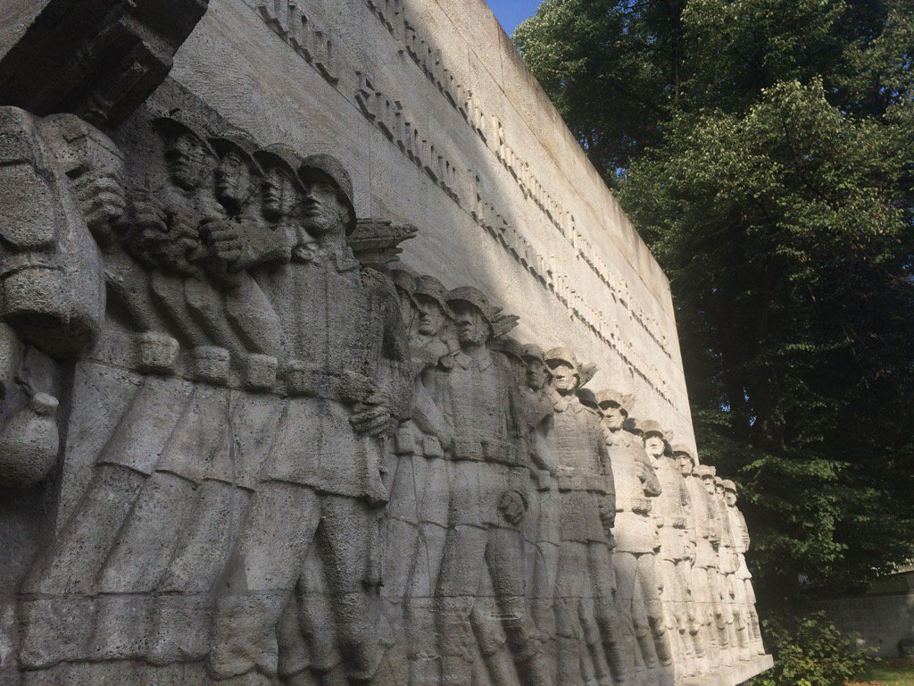 Remarkable monument to Hamburg 70th…
