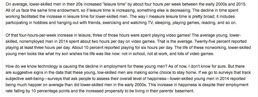 Low skilled males in 20s…