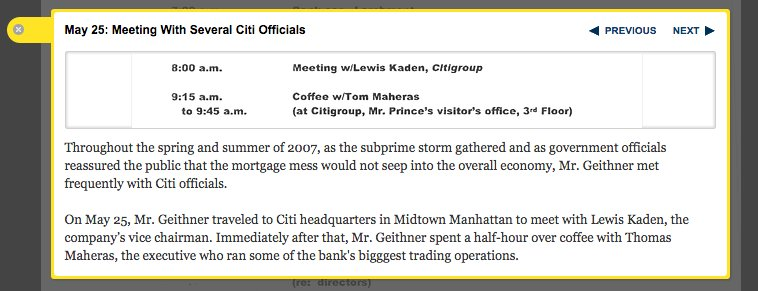 Amazing New York Times annotated…