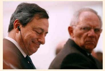 Wolfgang is not amused: Draghi…