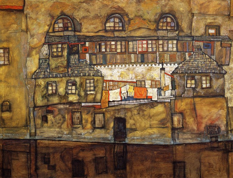 "RT @Revizorsb: ""Egon #Schiele, House…"
