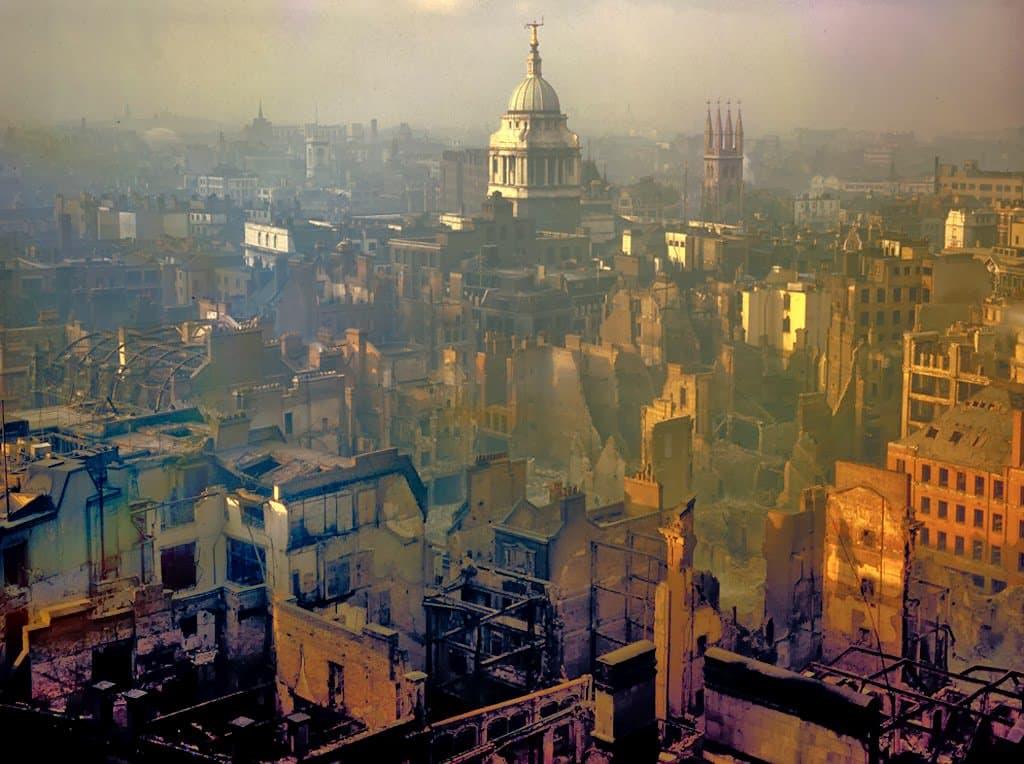 RT @AJBousquet: London after a…