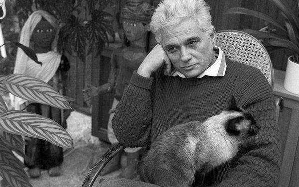 RT @alexandreafonso: Jacques Derrida as…