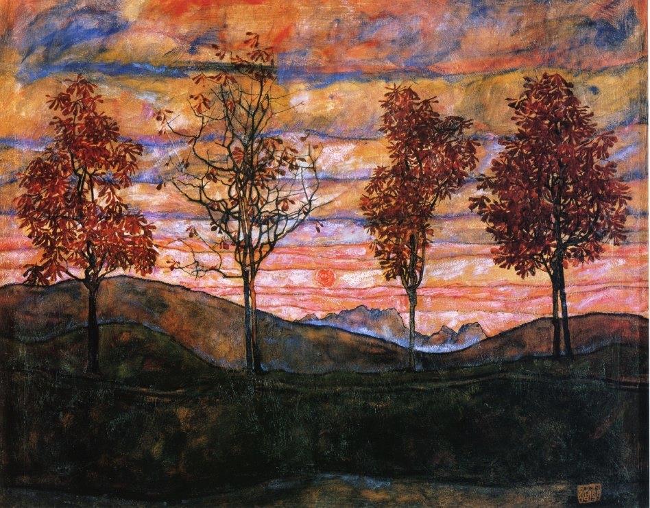 RT @rabihalameddine: Egon Schiele, Four…