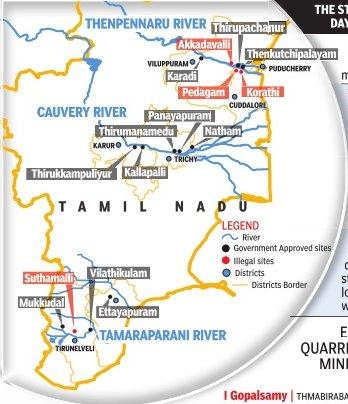 Tamil Nadu Sand Smuggling is…