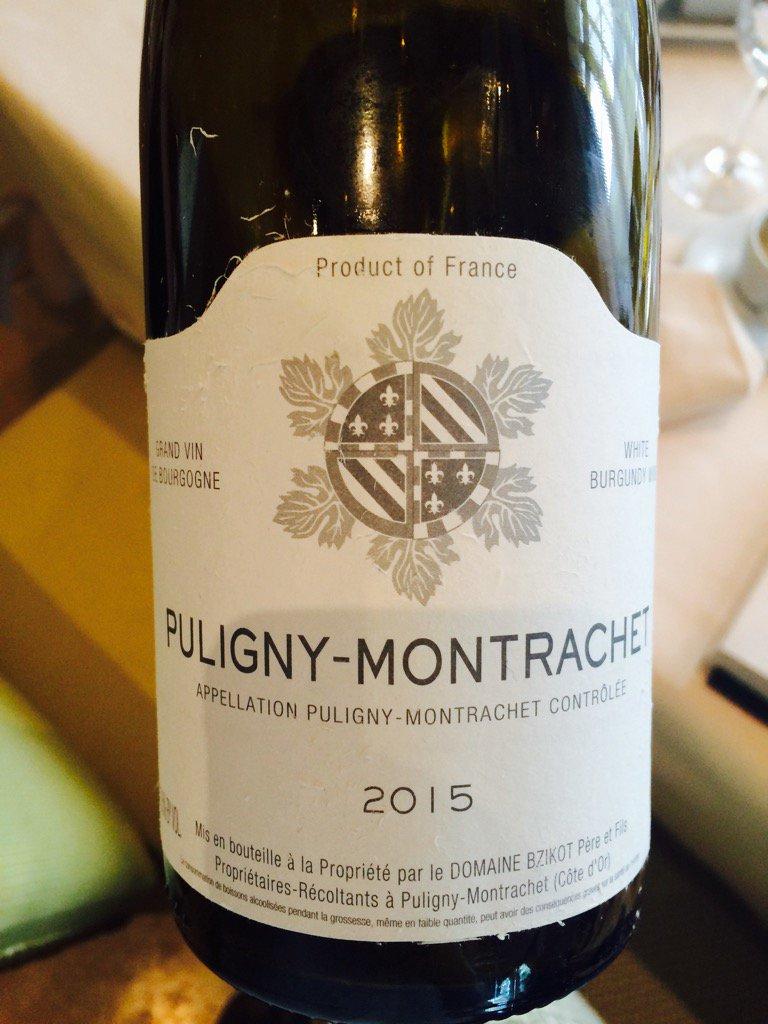 Puligny Montrachet domaine bzikot village…