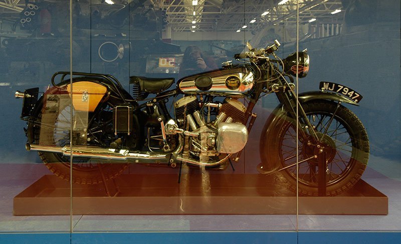 RT @Diverse_Images: Brough Superior SS…