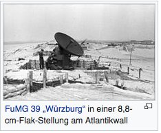FuMG 39 Würzburg radar controlling…