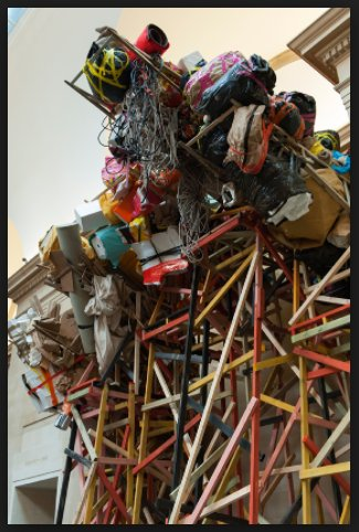 Phyllida Barlow: Loved her show…