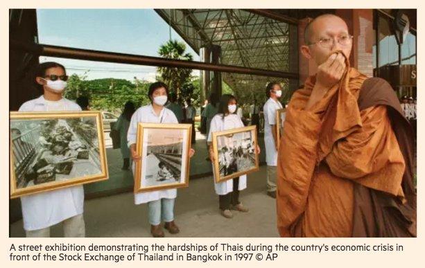Thailand commemorates anniversary of 1997…