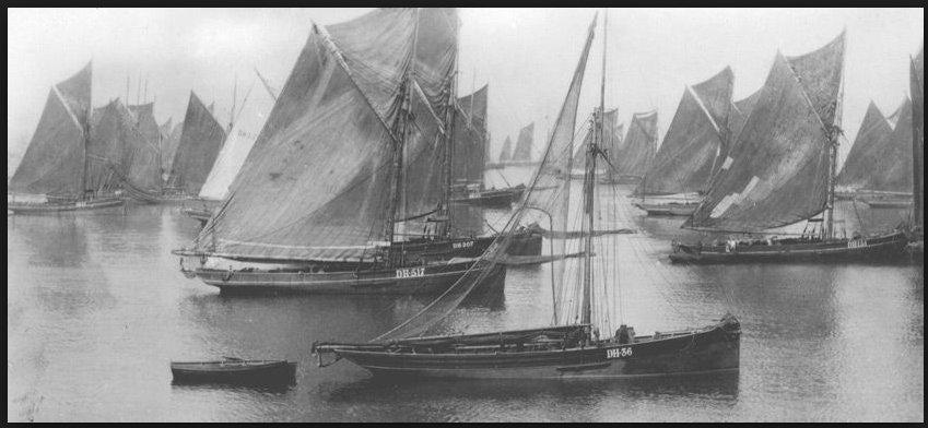 Brixham sailing trawlers: high speed…