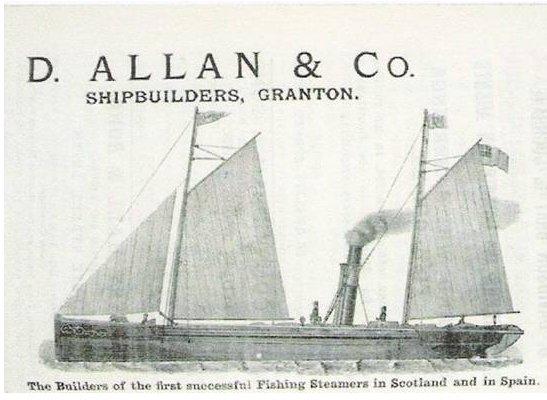 First steam trawler: Pioneer 1877…