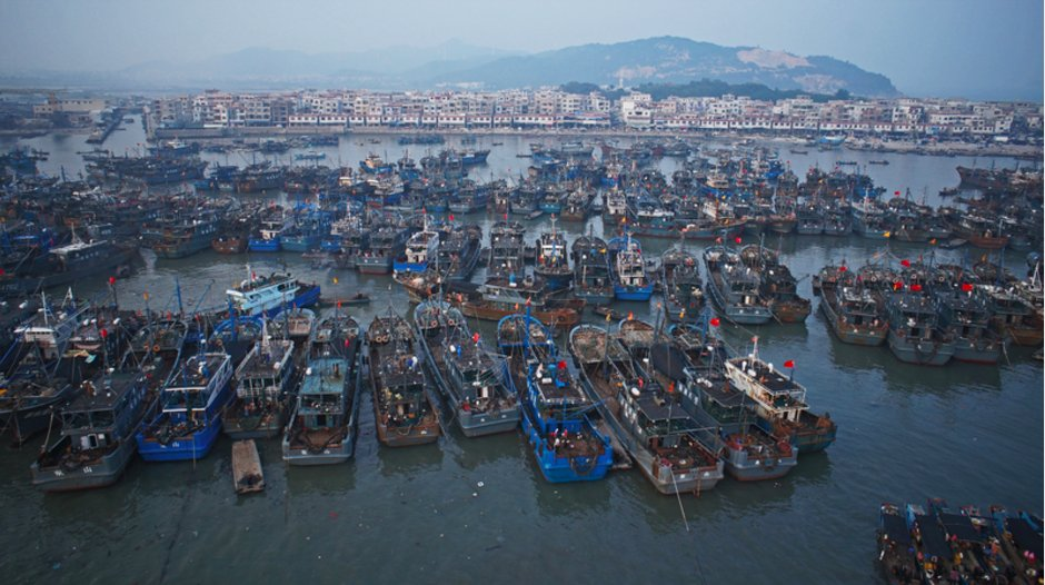China's distant water fleet has…