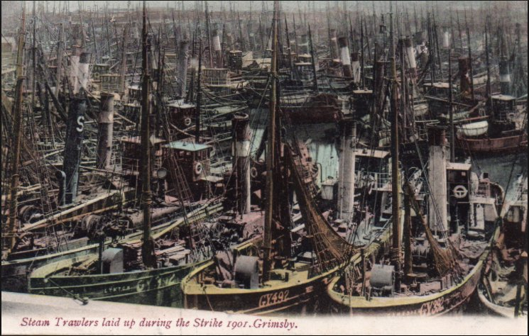 Grimsby the greatest fishing port…