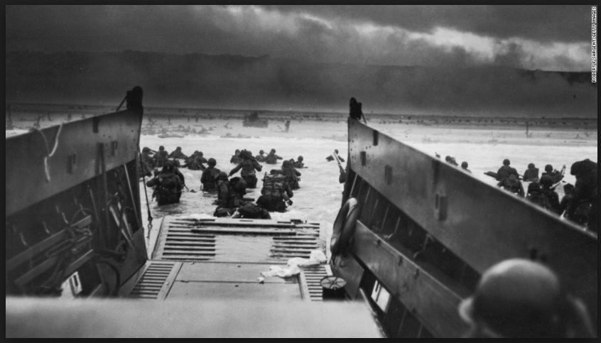 Locating D-day between Blitzkrieg and…