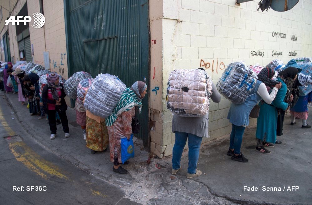 RT @metesohtaoglu: #Morocco's porter women…