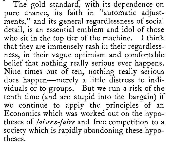 Keynes on very serious people…