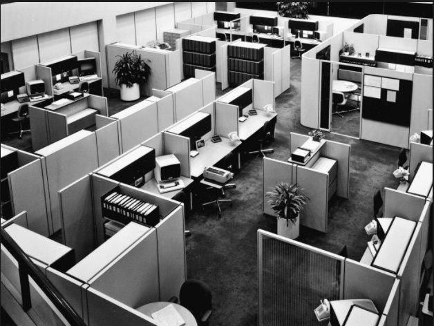 The birth of the cubicle…