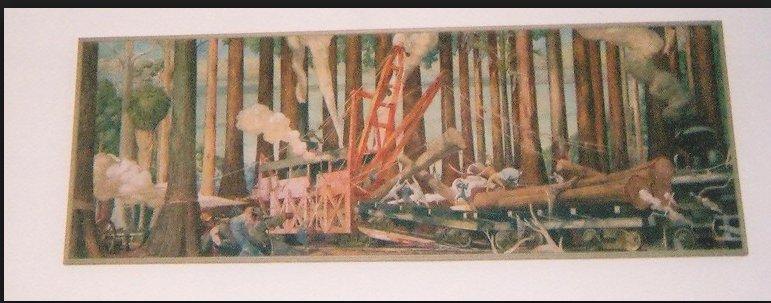 George Snow Hill Cypress Logging…