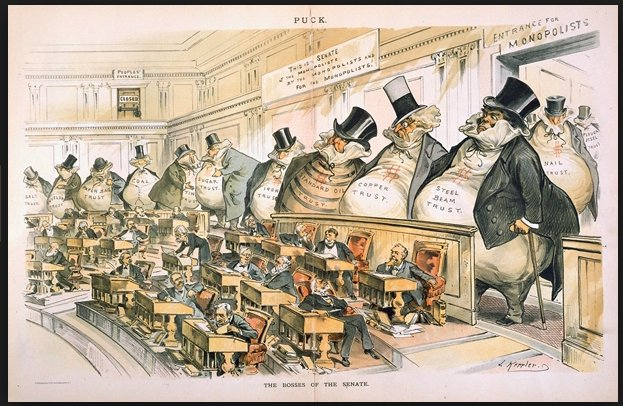 The Bosses of the Senate…
