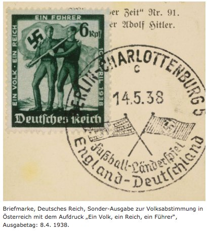 Didn't know that the Anschluss…