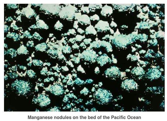 Are seabed manganese nodules the…