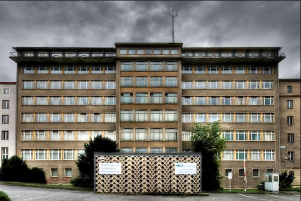 Stasi-Musem Normannenstrasse Berlin. Highly recommended…