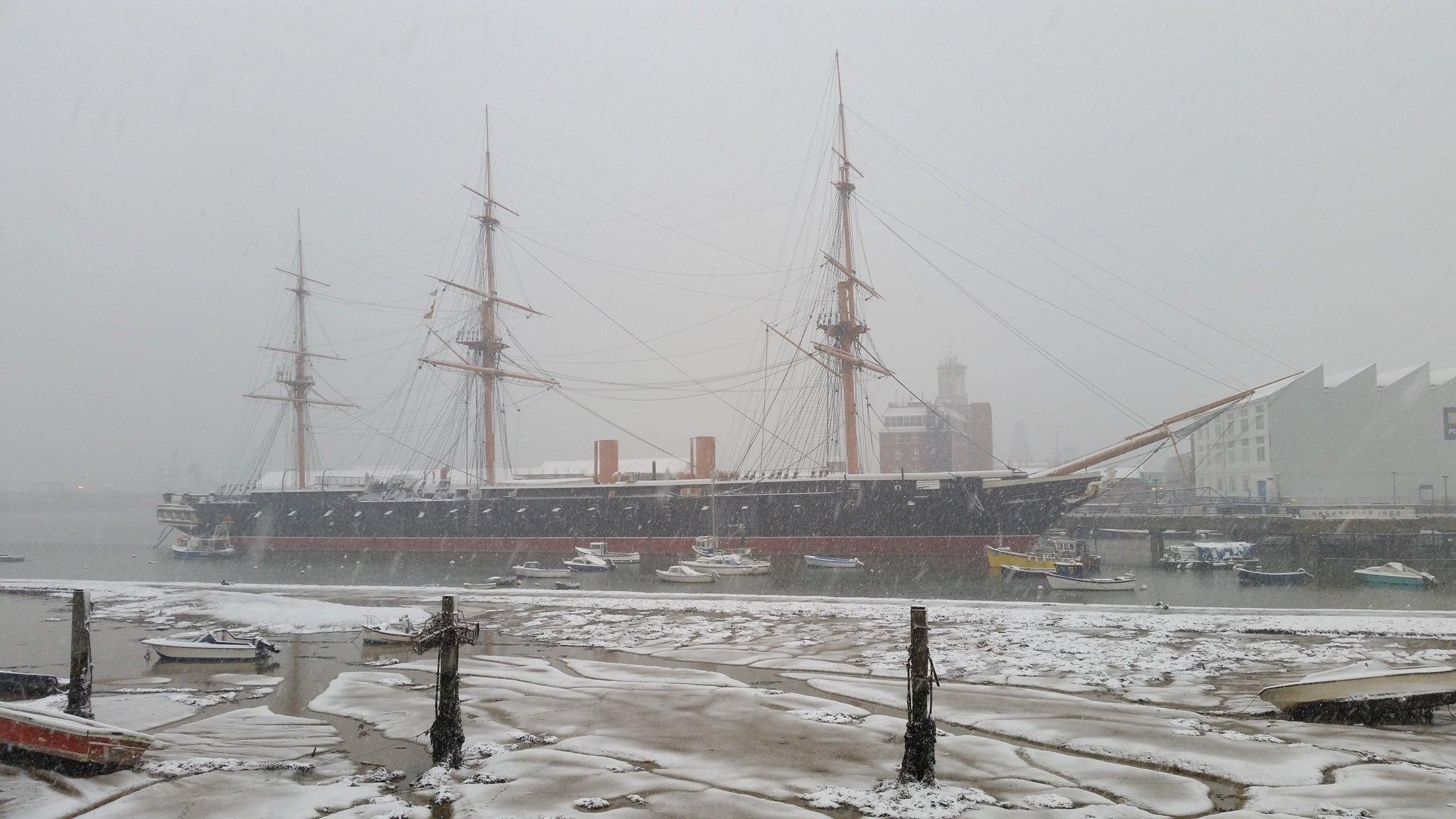 RT @SilverAhoy: HMS Warrior at…