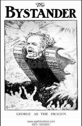 Lloyd George as half-man half…