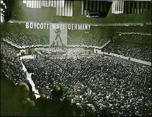 Maddison Square Garden Rally 1933…