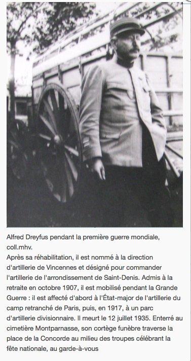 A rehabilitated Alfred Dreyfus serving…