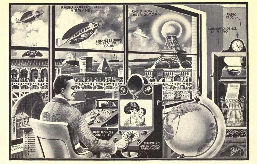 RT @PulpLibrarian: The office of…