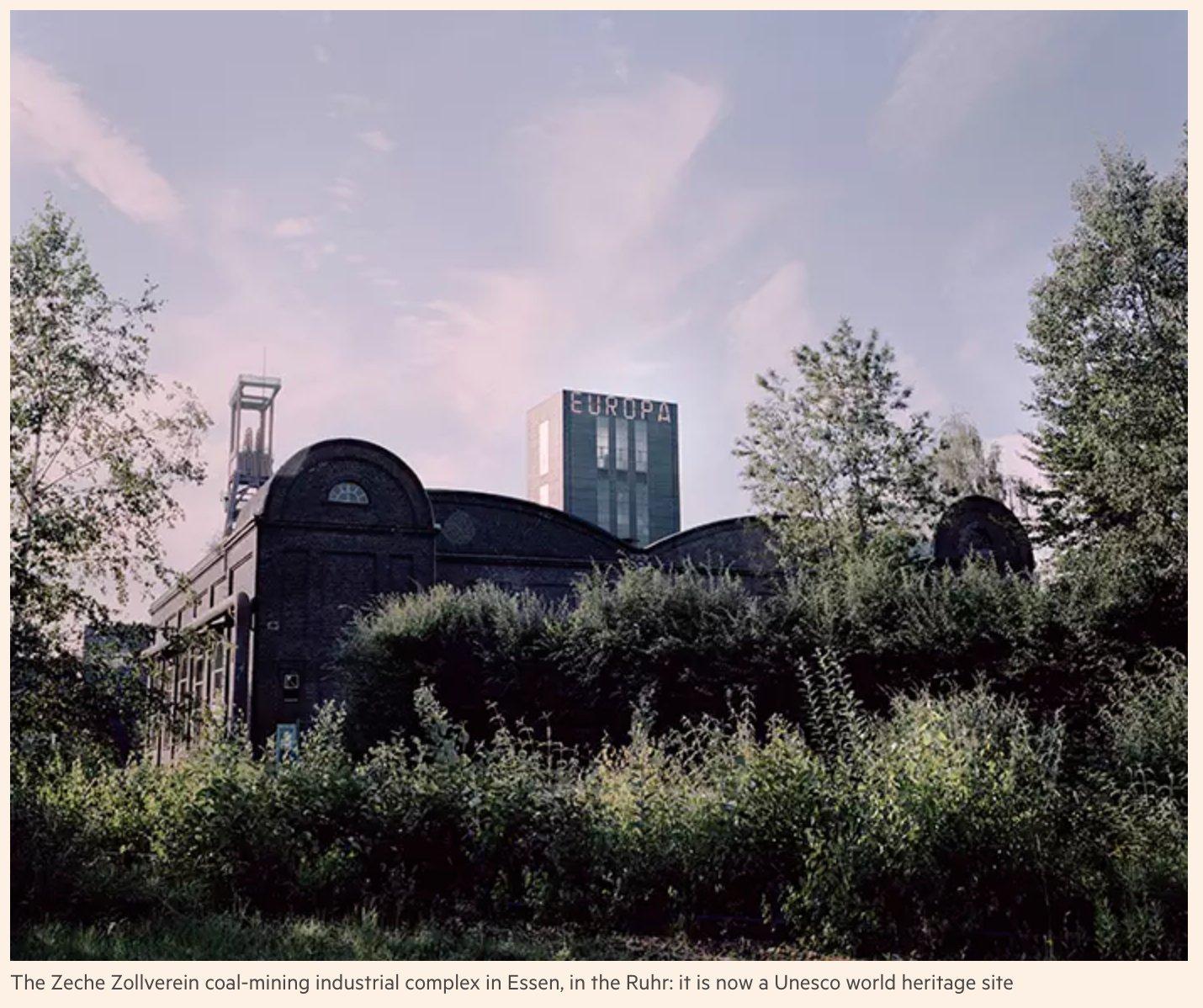 Zeche Zollverein - a coal…