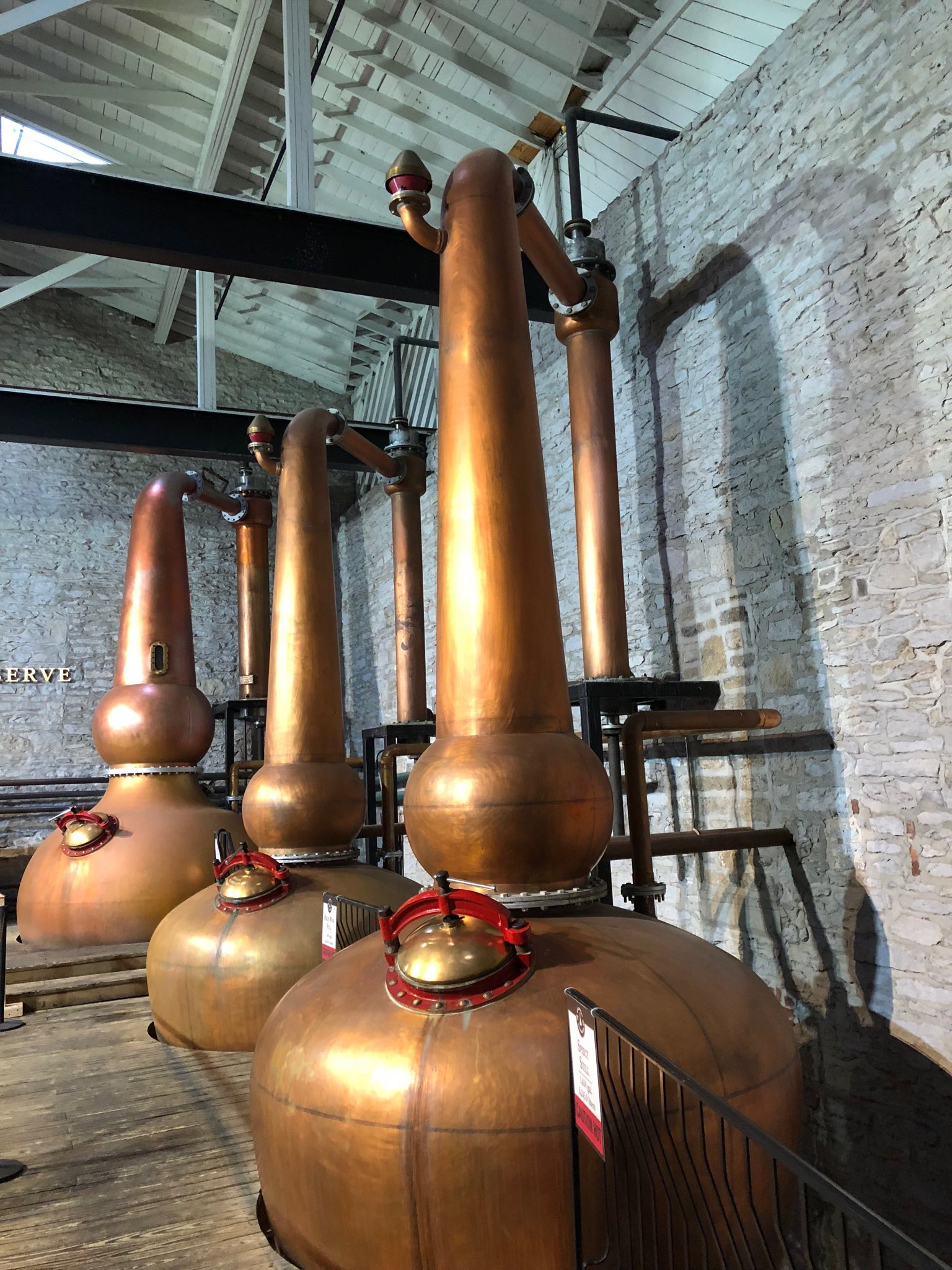 Aestheticized production: Woodford Reserve distillery…