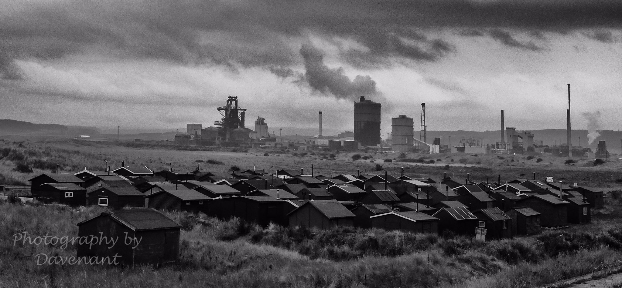 RT @SirWilliamD: Abandoned steelworks at…