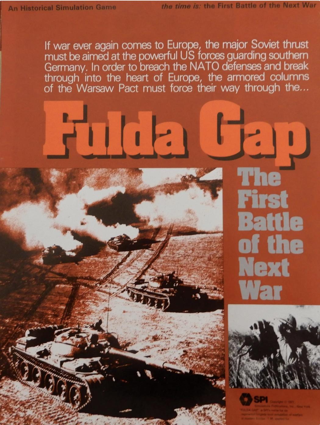 On finding SPI's Fulda Gap…