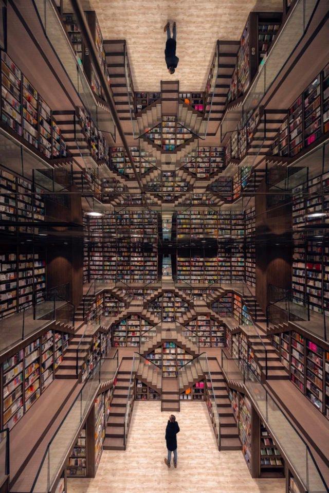 RT @Oniropolis: Zhongshuge bookstores, designed…